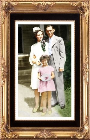 Ruth and Grover';s wedding photo