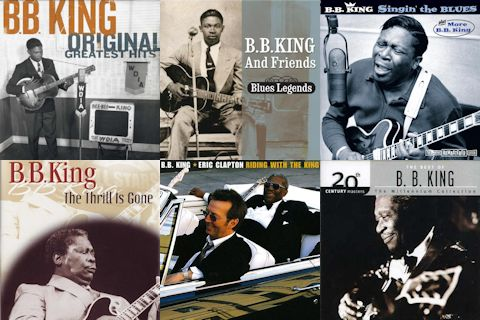 B. B. King album covers