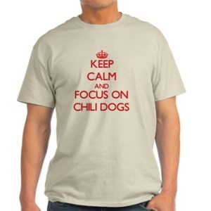 Chili dogs t-shirt