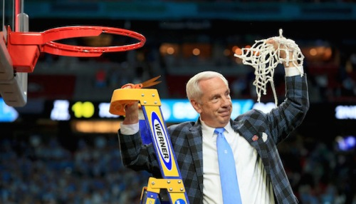 Roy Cuts Down the Net