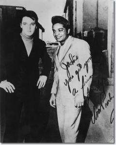Elvis and Jackie Wilson