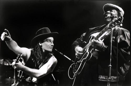 U2's Bono and B.B. King