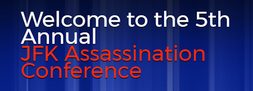 JFK Assassination Conference logo