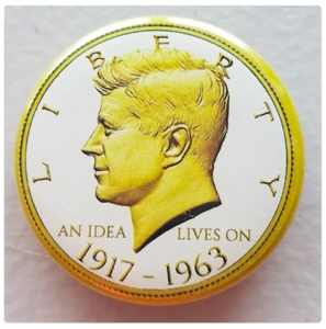 JFK Liberty Button