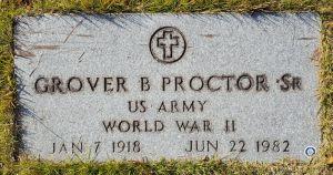 Daddy's grave footmarker