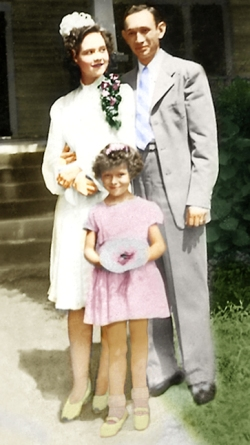 Ruth, Grover, and Janie Proctor