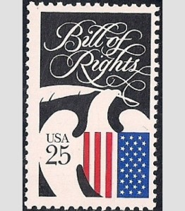 Bill of Rights stamp