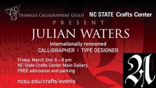 Julian Waters postcard