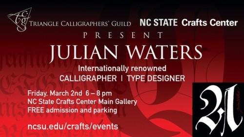 Julian Waters postcard
