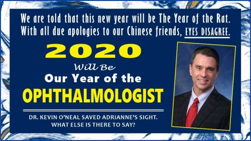 2020: Year of the Ophthalmologist